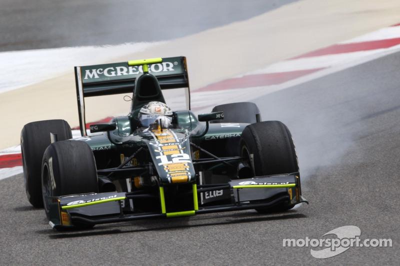 Series Bahrain II qualifying report