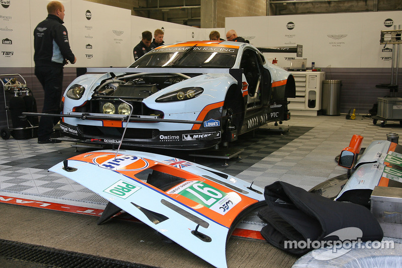 Aston Martin Racing 6 Hours of Spa qualifying report
