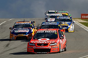 Supercars TeamVodafone Perth Sunday report
