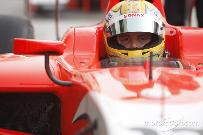 Arden Bahrain race 1 report