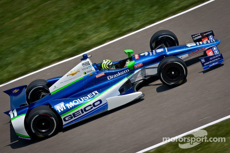 KV Racing Indy 500 practice day 2 report