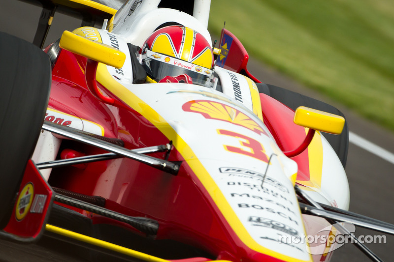 Team Penske Indy 500 practice day 4 report