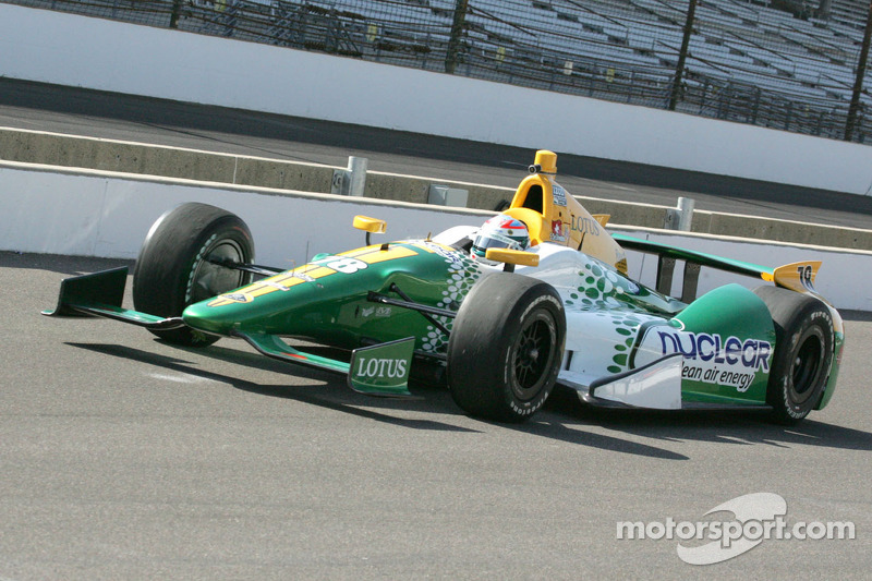 Lotus HVM Racing qualifies for 2012 Indianapolis 500