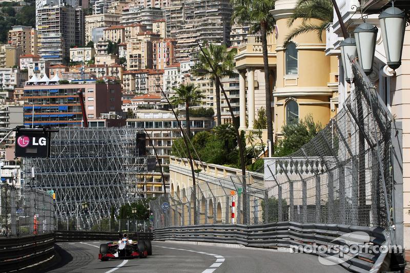 HRT Monaco GP Thursday report