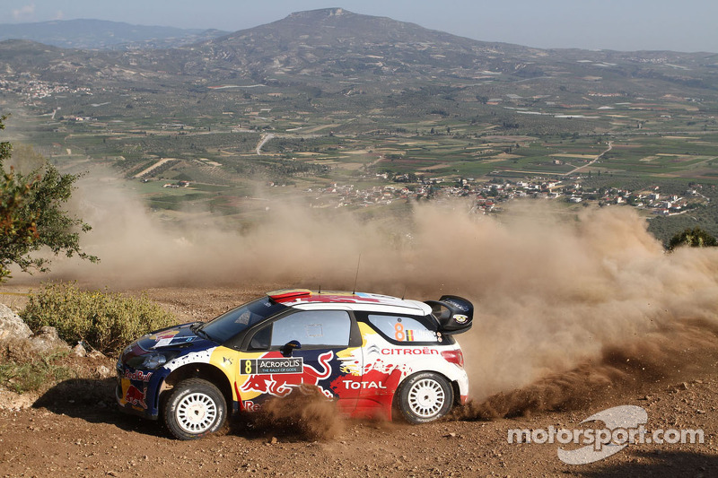 Citroen Junior driver Neuville earns points in Acropolis Rally