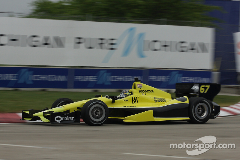 SFHR, Newgarden looks for better race day, than qualifying at Detroit