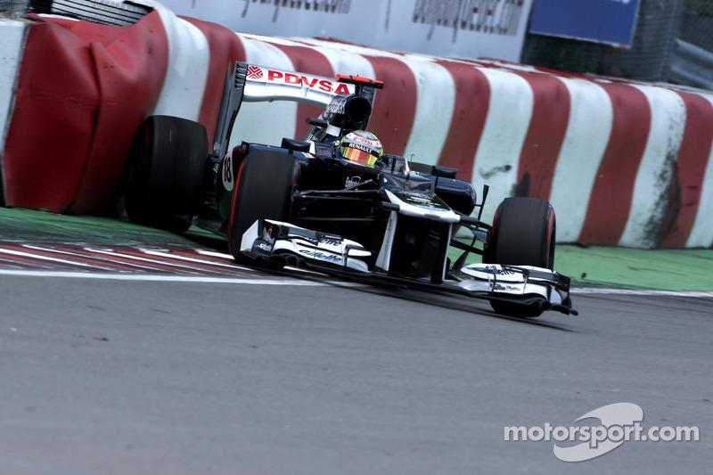 Williams' Senna and Maldonado struggled in Canadian GP qualifying