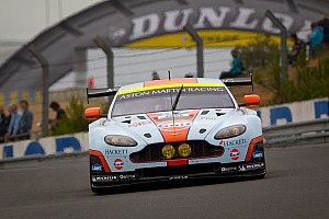 Le Mans Astons attack in GTE