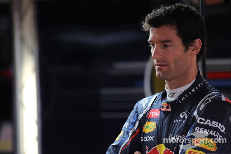 Webber insists no contact with Ferrari