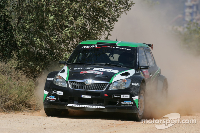 Paddon hungry for Super 2000 win at home rally