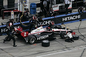 IndyCar Breaking news Penske Racing suffers a pair of retirements at Iowa