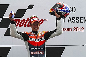 MotoGP Race report Stoner takes Assen victory in action packed race