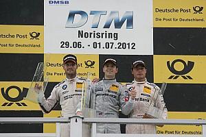 DTM Race report Jamie Green wins heartbeat finale at Norisring