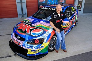 Supercars Breaking news Jacques Villeneuve saddles up for Townsville 400