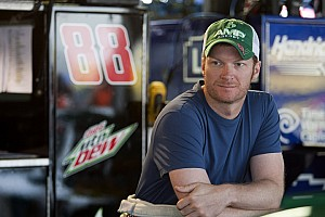 NASCAR Cup Interview Earnhardt Jr. discusses Daytona strategy with the media