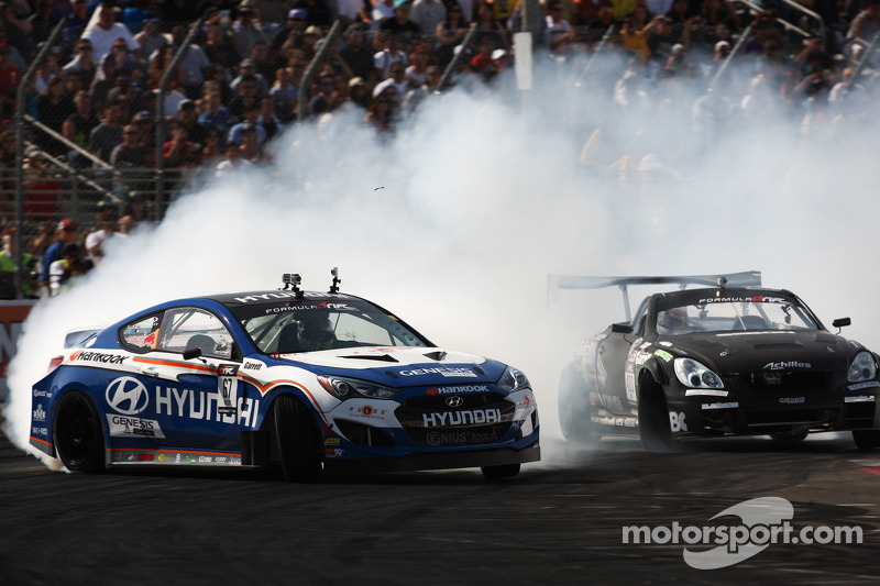 Hankook's Millen gets podium finish in Formula Drift  at Evergreen