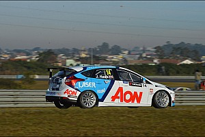 WTCC Race report Two solid finishes for Nash at Curitiba