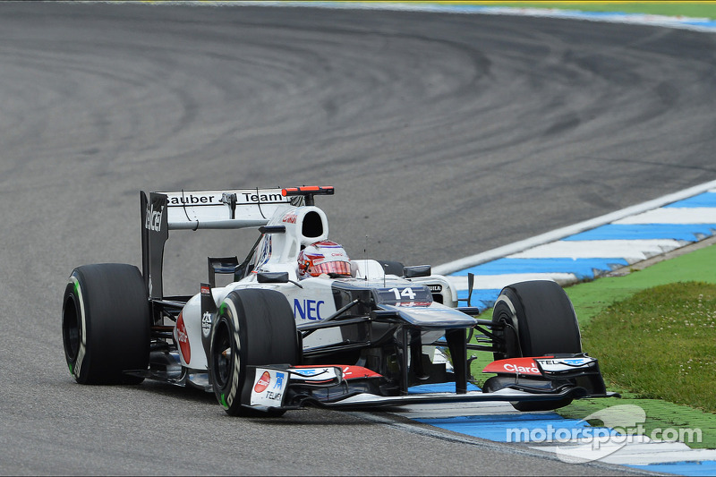 Sauber team was very happy to score 18 World Championship points in Germany