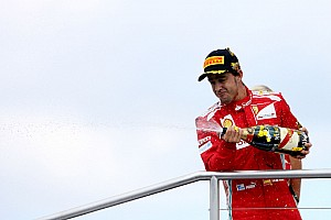 Formula 1 Race report Alonso becomes a three-time winner with Pirelli in 2012