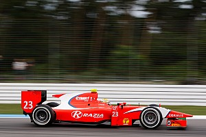 GP2 Race report Razia consolidates points lead with stong Hockenheim Feature race