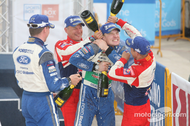Latvala claims Rally Finland podium for Ford on home ground