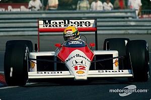 Formula 1 Special feature Ron Dennis Interviews Ayrton Senna - rare video