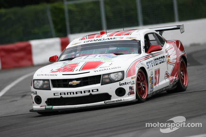 Stevenson Motorsports Camaro GT.R repeats as Montreal GT winner