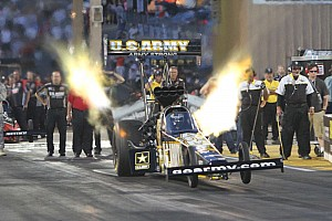 NHRA Qualifying report Schumacher earns 70th pole of career for U.S. Army team at Brainerd