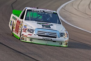 NASCAR Truck Race report Ross Chastain just short on gas at Michigan