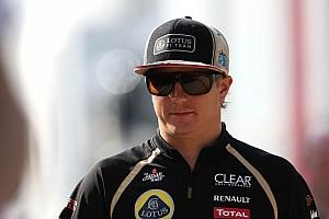 Formula 1 Breaking news Lotus confident Raikkonen to stay