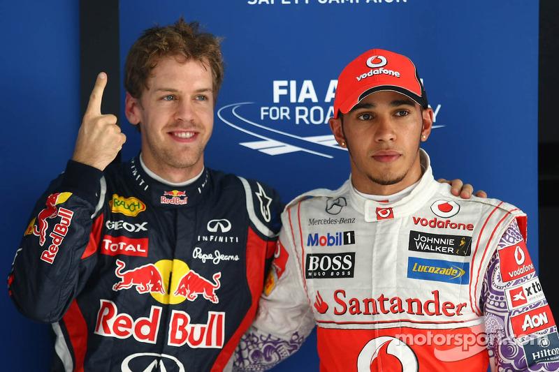 Classic footage of an epic Formula 3 battle between Hamilton & Vettel 2005- video