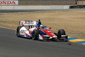IndyCar Race report 'Groundhog Day' for Conway at Sonoma