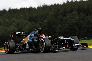 Formula 1 Qualifying report Caterham qualifies on tenth-row for Belgian GP