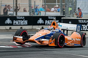 IndyCar Race report Kimball runs strong race with late-mechanical failure at Baltimore