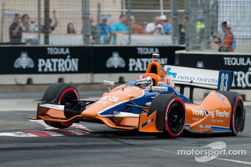 Kimball runs strong race with late-mechanical failure at Baltimore
