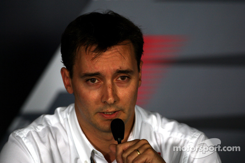 Scuderia Toro Rosso has appointed James Key as Technical Director