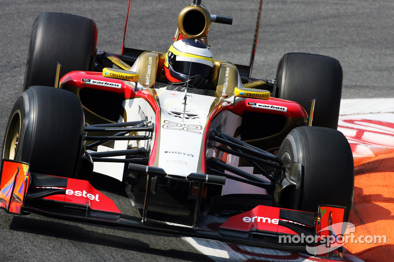 Qualifying day ran smoothly for HRT on Italian GP