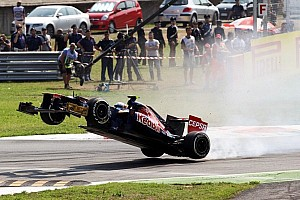 Formula 1 Breaking news Vergne 'fine' after pain of Monza flier