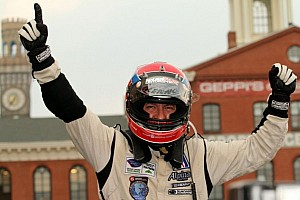 ALMS Interview ALMS/Grand-Am merger comments by current P2 leader Christophe Bouchut