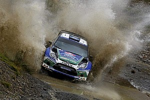 WRC Leg report Latvala heads Ford 1-2 in opening day of Wales Rally Great Britain