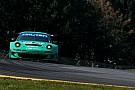 Team Falken Tire sets up their Porsche for Saturday's race at VIR