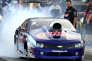 NHRA Qualifying report Line's earns second starting position in Pro Stock at Charlotte