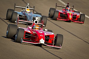 Indy Lights Race report Dempsey fast but unlucky in Fontana's season finale