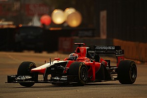 Formula 1 Qualifying report Marussia qualified in 21st and 22nd positions for Singapore Grand Prix