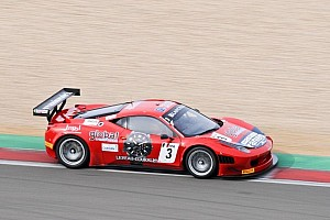 Blancpain Sprint Race report Vilander and Salaquarda triumph at the Ring for Ferrari