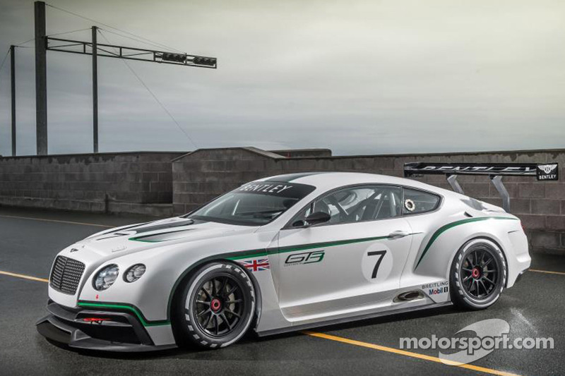 Bentley unveils stunning new FIA GT3 race car in paris