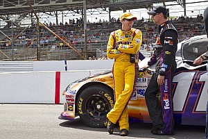 NASCAR Cup Interview For Kyle Busch it is all about helping Hamlin win the championship