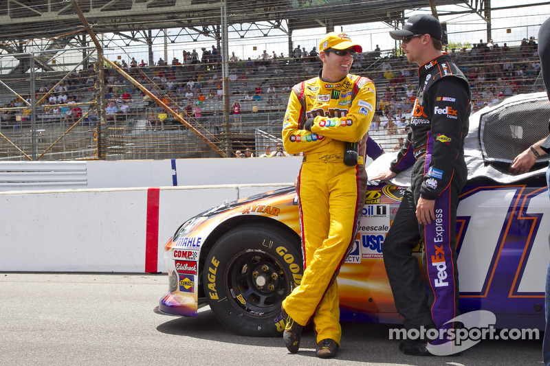 For Kyle Busch it is all about helping Hamlin win the championship