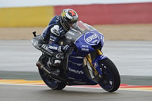 MotoGP Qualifying report Lorenzo delivers with pole in Aragon