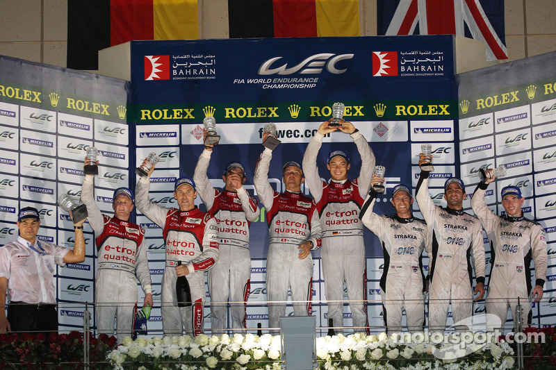 Audi victorious in 6 Hours of Bahrain